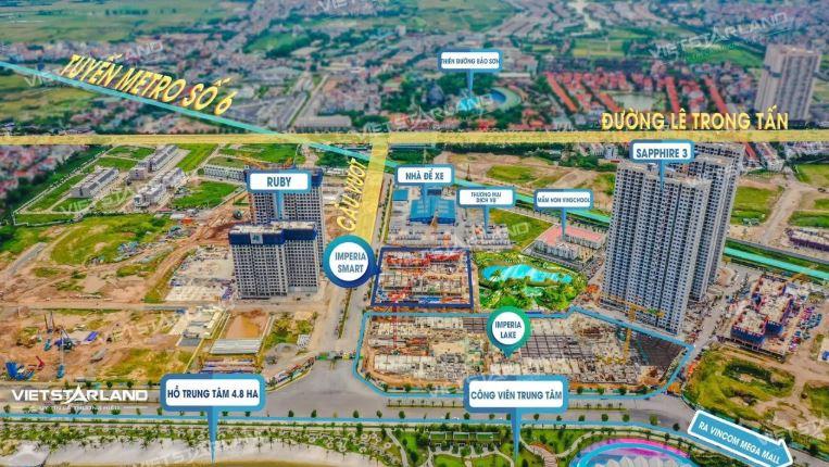 Tiến độ xây dựng dự án Imperia Smart City Tây mỗ