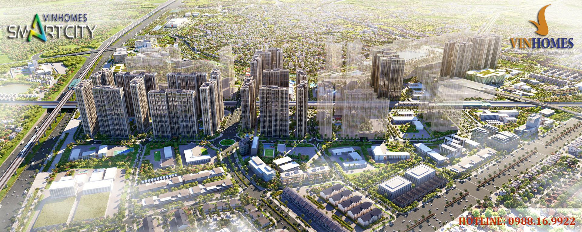 Thành phố Thông minh Vinhomes Smart City tây mỗ